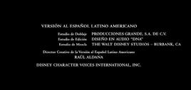 Mi amigo el dragón (2016) Doblaje Latino Creditos 5
