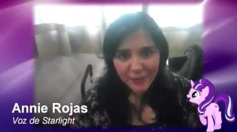 Saludo de Annie Rojas