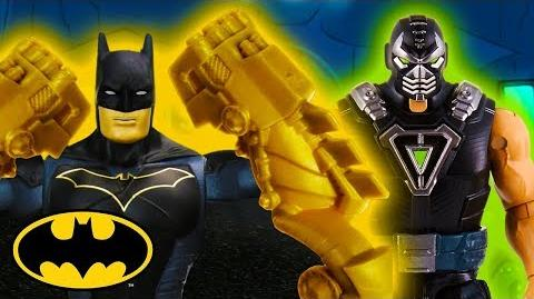 The Man Who Broke The Bat Batman Mattel Action!