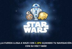 Waze star wars