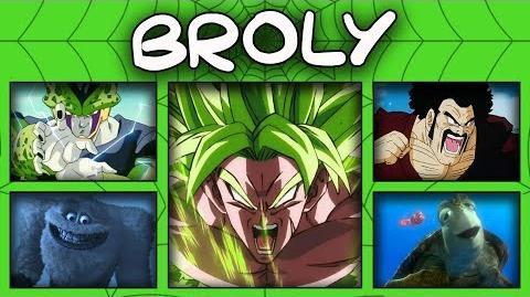 """BROLY- 22 Personajes de Ricardo Brust """"Español Latino"""" -- SpiderHalo"""