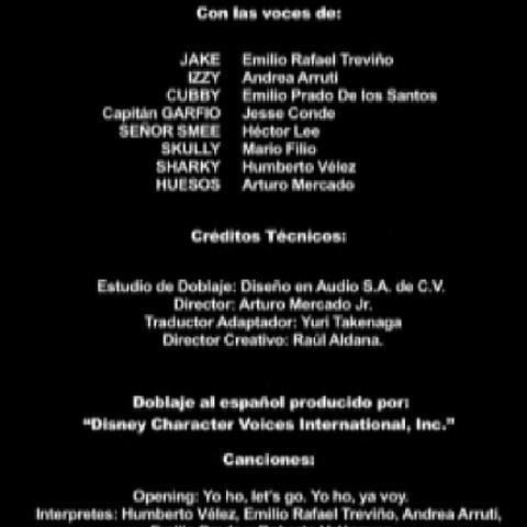 Créditos de la Temporada 1 y 2