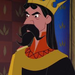 Rey Estéfano en el redoblaje de <a href=