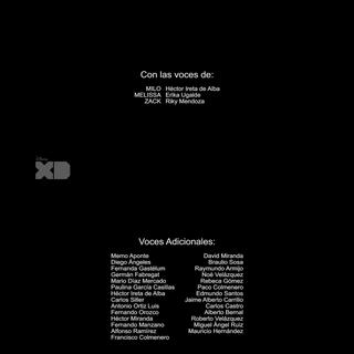 Créditos de la segunda temporada.