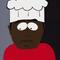 Actor representando a Chef SP