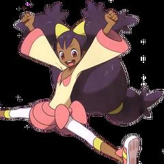 Iris de Pokemón, Su personaje mas famoso.