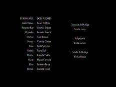 Créditos de doblaje de La venganza de los ex T01E02