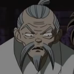 El abuelo Higurashi en <a href=