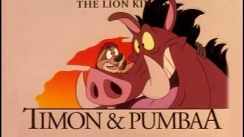 La Aventuras de Timón y Pumba - Opening