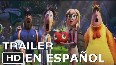 Lluvia de Hamburguesas 2-Trailer en español HD