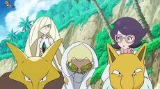 Pokemon -Faba se disculpa por todo lo que hizo y Lusamine lo degrada de puesto