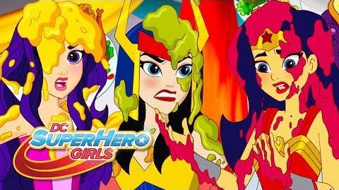 Guerra de Comida Super Hero Latino America DC Super Hero Girls