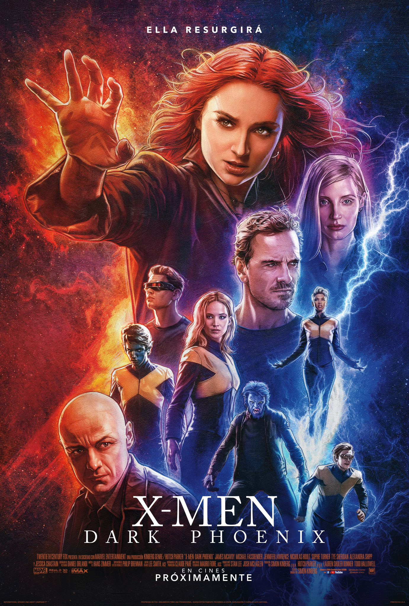 Xmen Dark phoenix no saldra en BluRay