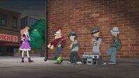 Doofenshmirtz forced to dance