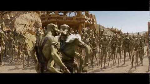 John Carter - Trailer Super Bowl Español Latino - FULL HD