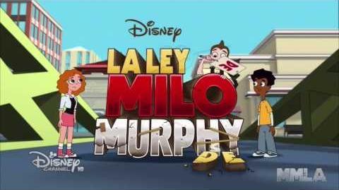 La ley de Milo Murphy Intro (Disney Channel HD - Español latino - Letra)
