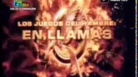 Los Juegos del Hambre En Llamas Tv Spot Audio Latino