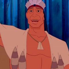 Jefe Powhatan en <a href=
