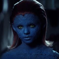 Raven Darkholme / Mystique (niña) en <a href=
