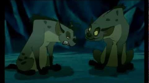 El Rey León- Las hienas ¡mufasa!