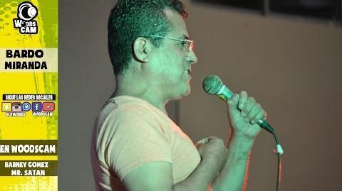 Bardo Miranda (La voz de Barney Gomez - Simpson - Mr Satan ) En Vivo
