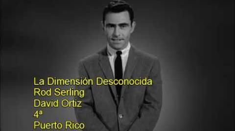 La Dimensión Desconocida Rod Serling Comparación de voces