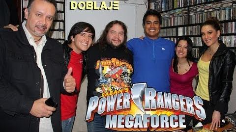 Power Rangers Megaforce Entrevista Doblaje Latino