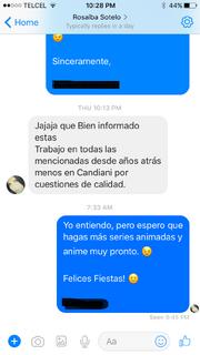Rosalba no trabajaba en Candiani