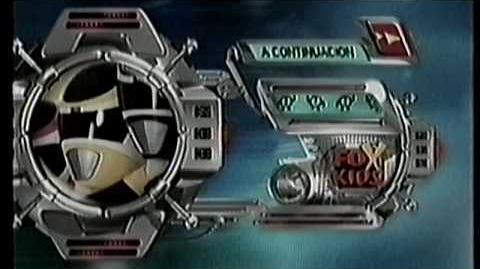 Tanda 4 FOX KIDS Abril 2000 Promo Power Rangers en el Espacio