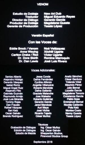 Venom Creditos