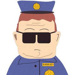 Oficial Barbrady en el doblaje mexicano de <a href=