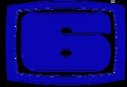 Canal 6 TCS logotipo de los 80's