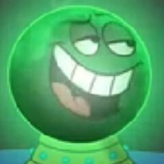 Bola de cristal en <a href=