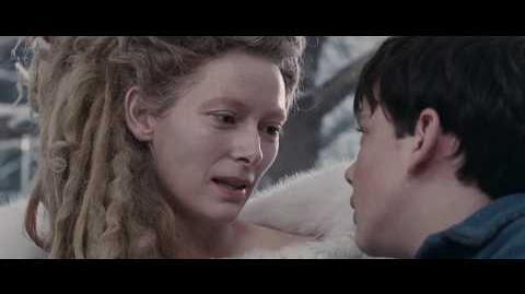 """La Bruja Blanca Jadis (2 10) español spanish """"Narnia el león, la bruja y el ropero""""."""