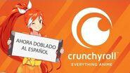 Nuevas series dobladas al Español en Crunchyroll