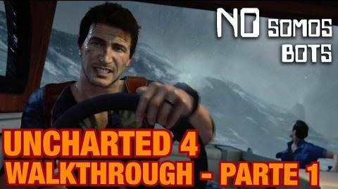 UNCHARTED 4 Walkthrough (Español) Parte 1