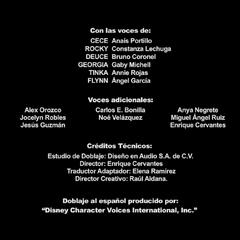 Créditos del Doblaje de la 3ra Temporada