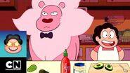Cocinando con León Minisodios Steven Universe Cartoon Network