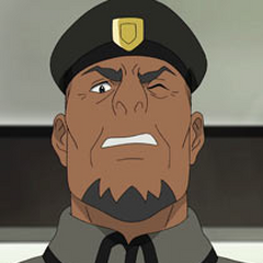 General Iverson en <a href=