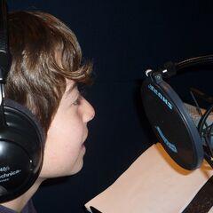 Frente al micrófono
