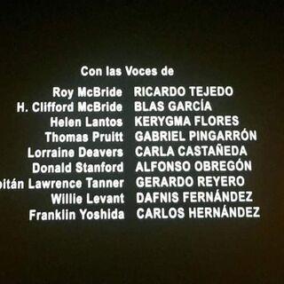 Créditos del Cine (3 de 5).