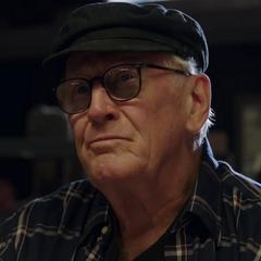 Hank en la película de <a href=