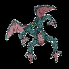 El Dragón de seis estrellas (forma real) en <a href=