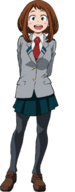 Ochaco School Uniform Full Body MHA