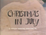 Rudolph and Frosty's Christmas in July Title