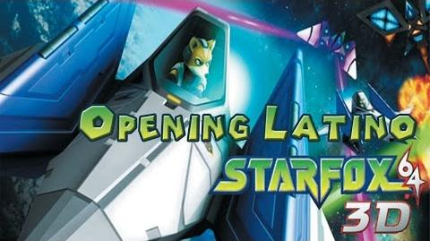 Star fox 64 3D Opening en español Latino