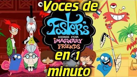 Voces de Mansión Foster para Amigos Imaginarios en 1 minuto