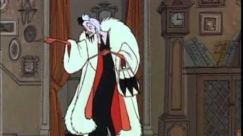 """Cruella De Vil"" from 101 Dalmations - SPANISH version!"