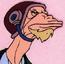 Long John Silverfish TS Comic Strip
