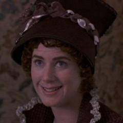 Lucy Steele (Imogen Stubbs) en <a href=